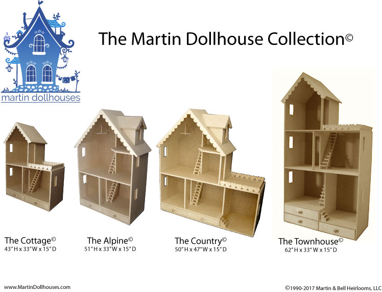 Barbie Wood Dollhouse Kit Contents Martin Dollhouses