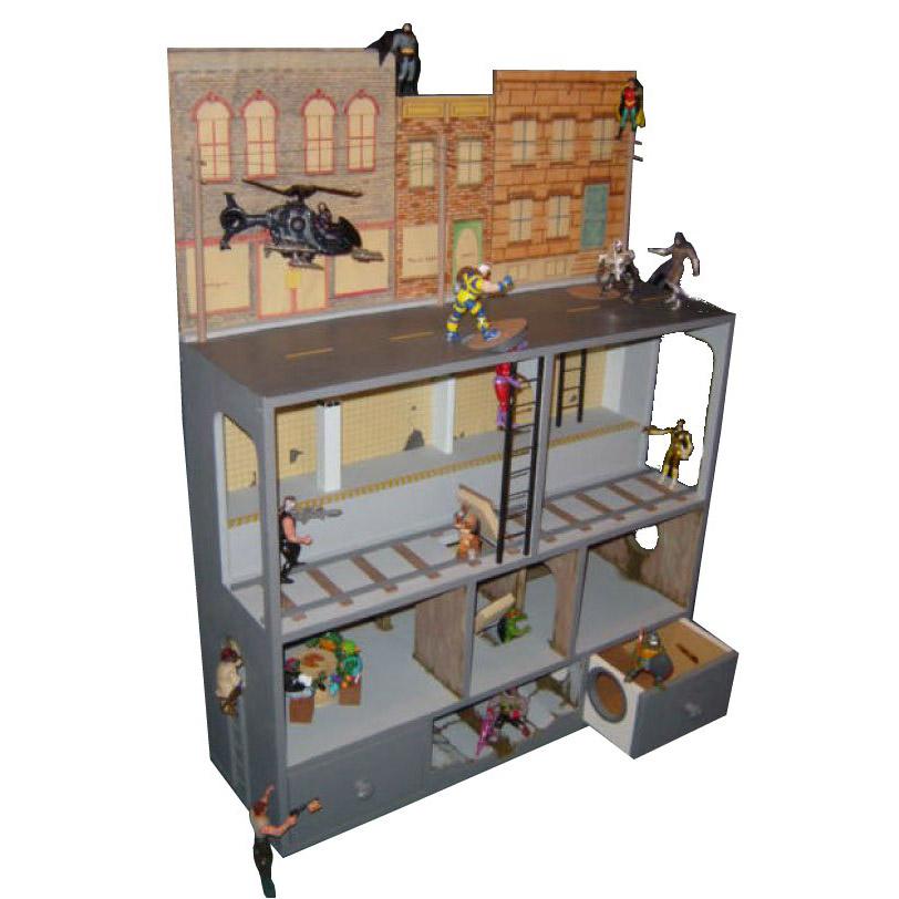 Action Figure City 169 Martin Dollhouses