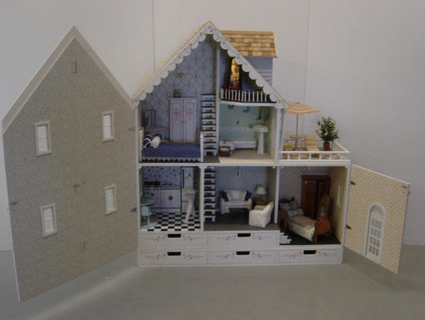 Country Dollhouse Kit Martin Dollhouses