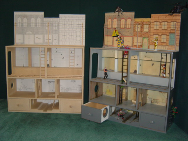 Action Figure City 174 For Boys Amp Girls Martin Dollhouses