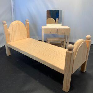 Barbie Bedroom Set, unfinished wood