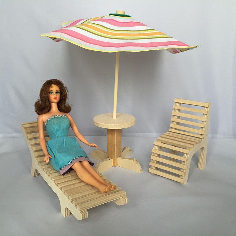 Deck Patio Furniture Martin Dollhouses