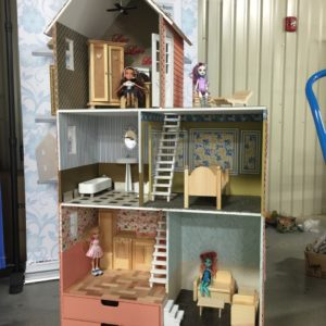 Finished Barbie doll house from Martin Dollhouses