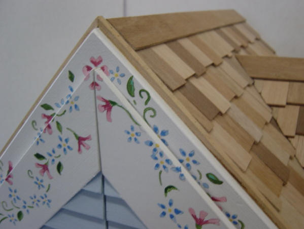 Trim for barbie wooden doll house kit