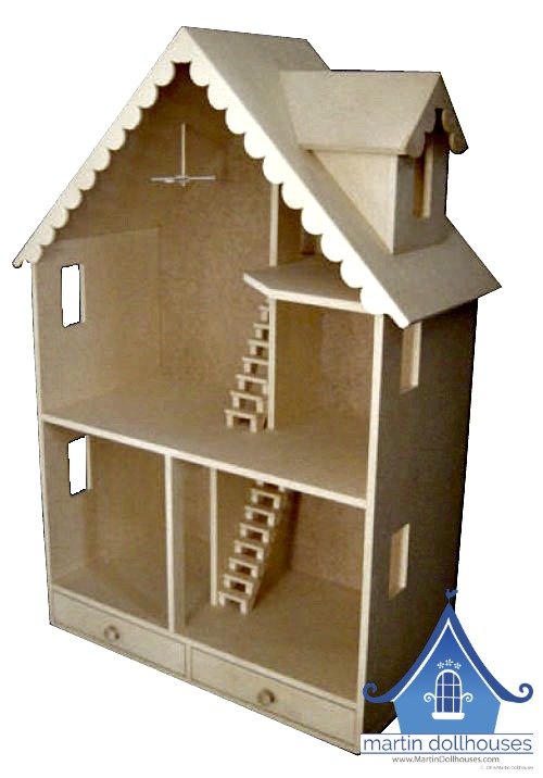 Barbie Wood Dollhouse Donated In Austin Martin Dollhouses