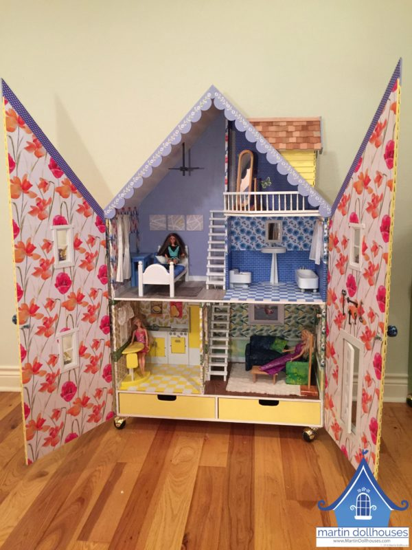 alpine-wood-barbie-dollhouse-both-front-open