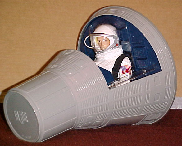 GI Joe creator space capsule